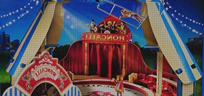 TOP 10 playmobil circos